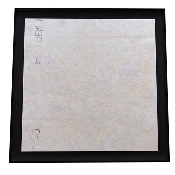 Dubbelsidig Sound Frame med svart profil - ljudabsorbent