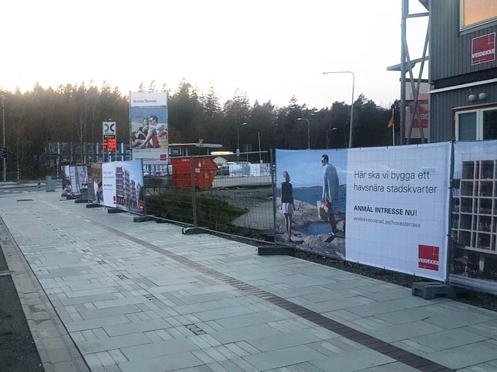 Nya Hovås - Staketvepa Veidekke