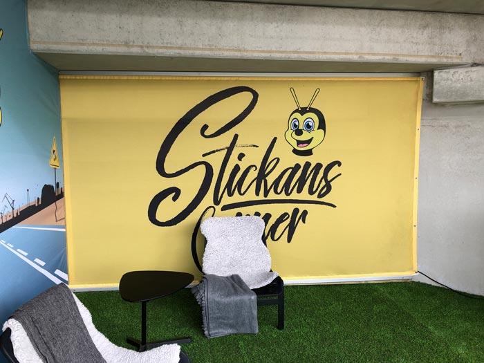 Backdrop - Stickans corner