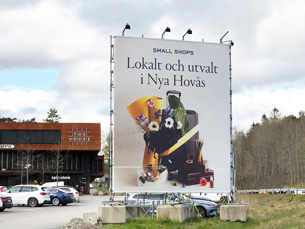 Byggställningsvepa nya Hovås