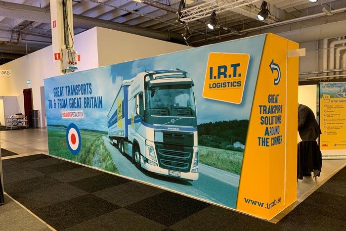 Mässvepa - IRT Logistics