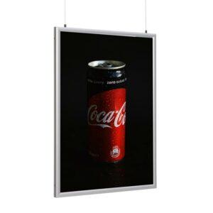 Affischhållare LED